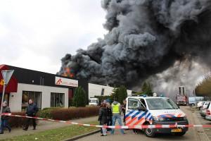 Grote uitslaande brand in Kringloopfabriek Buiten (10)