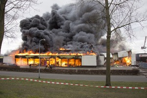 Verdachten brand kringloopwinkel vrijgelaten
