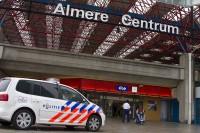 Verdachte koffers op treinstation centrum blijkt loos alarm (1)