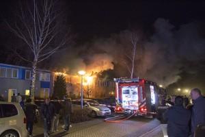 Uitslaande woningbrand Paulus Potterstraat (5)