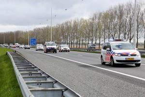 Landelijke politieactie voor nieuwe CAO langs Almere - AP_Image1