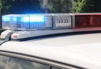 Politie auto zwaailicht