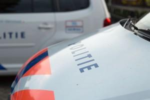 Politie motorkap