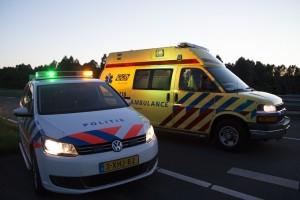 Politie en ambulance Almere