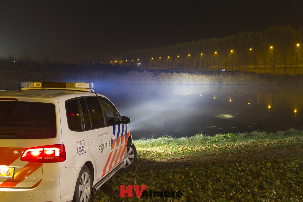 Inbreker betrapt in Almere Hout - HV-Almere