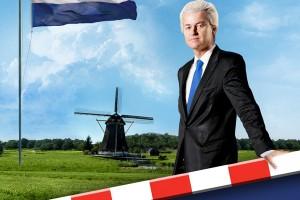 Flyer die PVV gaat uitdelen