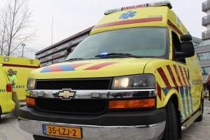 Na ruim 30 jaar verdwijnt de Chevrolet ambulance uit het Almeerse straatbeeld