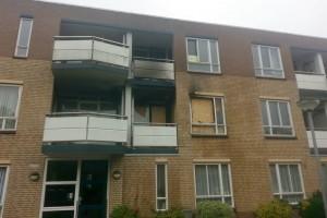 Persoon gewond na woningbrand Staatsliedenwijk-2