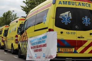 Vandaag voert de ambulancedienst in Almere actie!