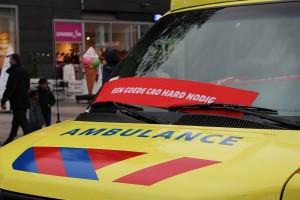 CAO akkoord voor de ambulancezorg in Nederland bereikt