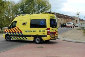 Ongeluk tijdens rijles in Kruidenwijk
