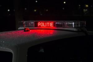 Politie tekens lichtbalk