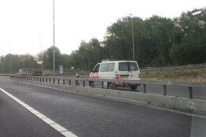 Alweer kilometers lange file door politiecontrole A6