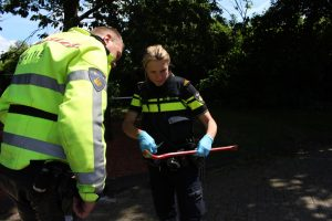 Inbrekers aangehouden na zoektocht met politiehelikopter (6)