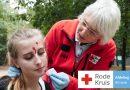 Volgdienst Rode Kruis Almere tijdens Koningsdag