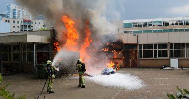 Getuigen gezocht van brand bij Baken Stad