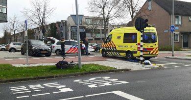 Fietser aangereden op Bartokweg