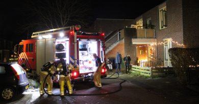 Brand in bovenwoning Geldropstraat