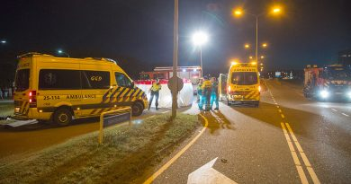 Motorrijder overleden na ernstig ongeval op Spectrumdreef