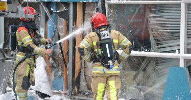 Brand in gevel bij basisschool Catootjepad