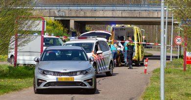 Gestolen politieauto aangetroffen in Almere, verdachte aangehouden
