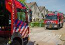 Brandweer heeft klus aan brand in spouwmuur