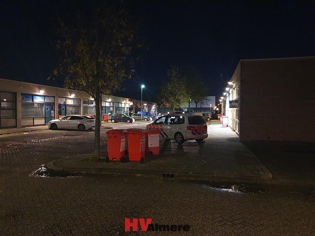 Halloween Feest Almere.Politie Beeindigt Bijeenkomst In Pand Markerkant Hv Almere
