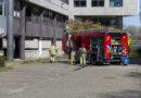 Brand bij leegstaande gebouw Wisselweg; sloop start 3 mei
