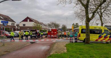 Regionaal: Groot alarm voor hulpdiensten Flevoland in verband met vreemde lucht in Lelystad