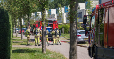 Gaslekkage na brand in meterkast, meerdere woningen ontruimd